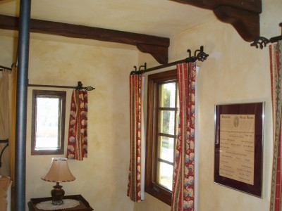 Wrought Iron Drapery Hardware Gallery - Paso Robles Ironworks