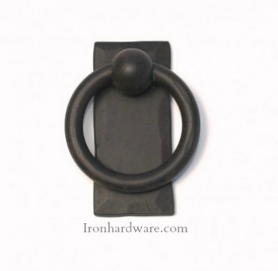Wrought Iron Cabinet Hardware, Knobs, Pulls, Rings, Hinges - Paso ...