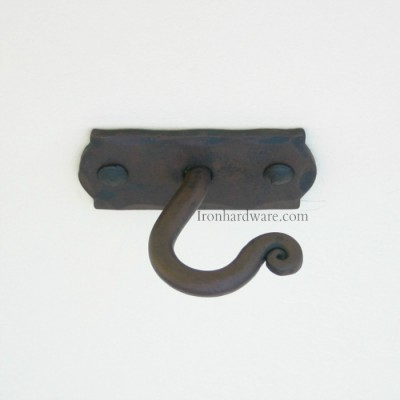 Iron Drapery Hardware Mounting Brackets Paso Robles