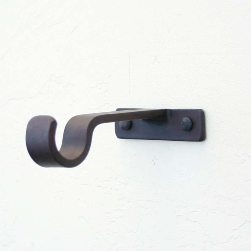 Curtain Rod Hardware Brackets Door Blind Mounting Hard