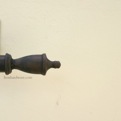 Iron Curtain Rod Finials Paso Robles Ironworks
