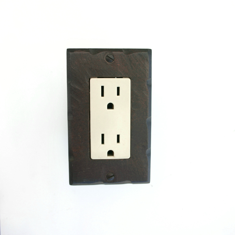 Wrought Iron Switchplates and Outlet Covers - Paso Robles Ironworks