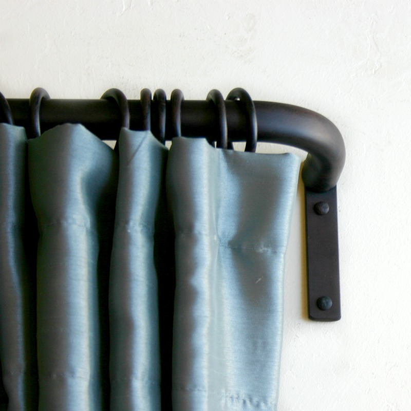 Wrought Iron Drapery Hardware, Finials - Paso Robles Ironworks