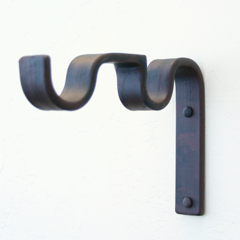 Close To Wall Curtain Rod Brackets