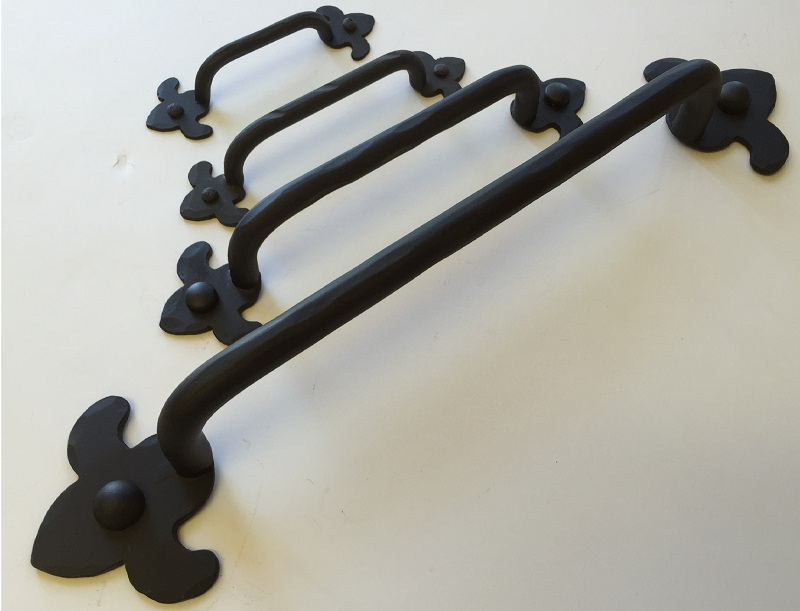 Wrought Iron Drawer Pulls And Knobs Paso Robles Ironworks